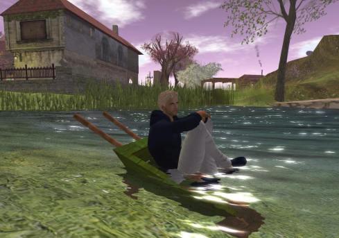 15 04 14 Babi kaj mi_004 kial li en la lago
