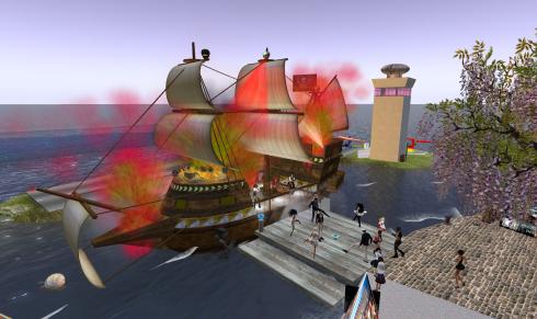Alvenis piratoj al Auroro 1